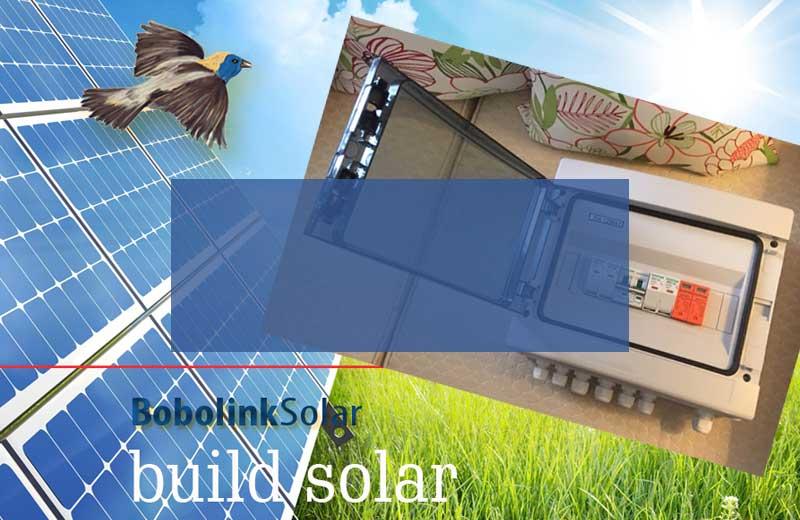 New — solar combiner box