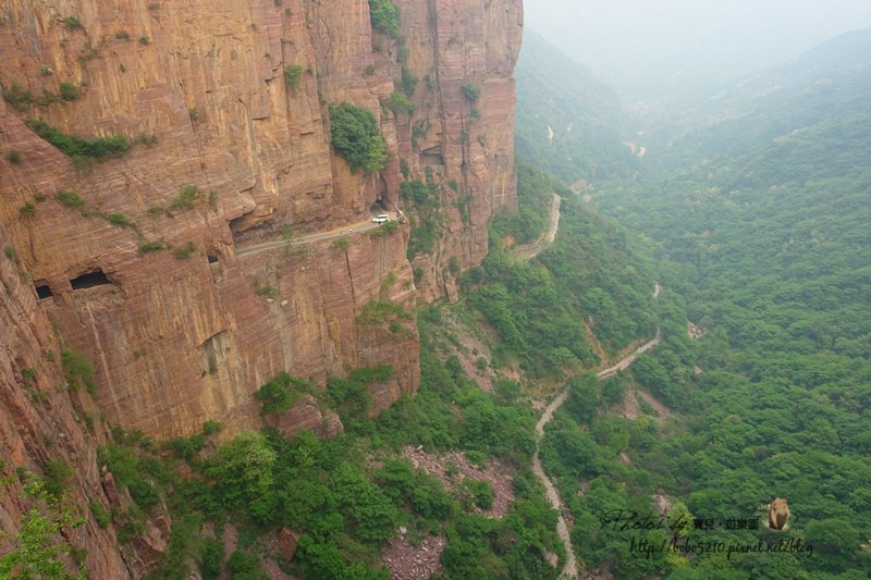 中國河南、輝縣萬仙山|太行明珠郭亮村,懸崖峭壁上的傳奇