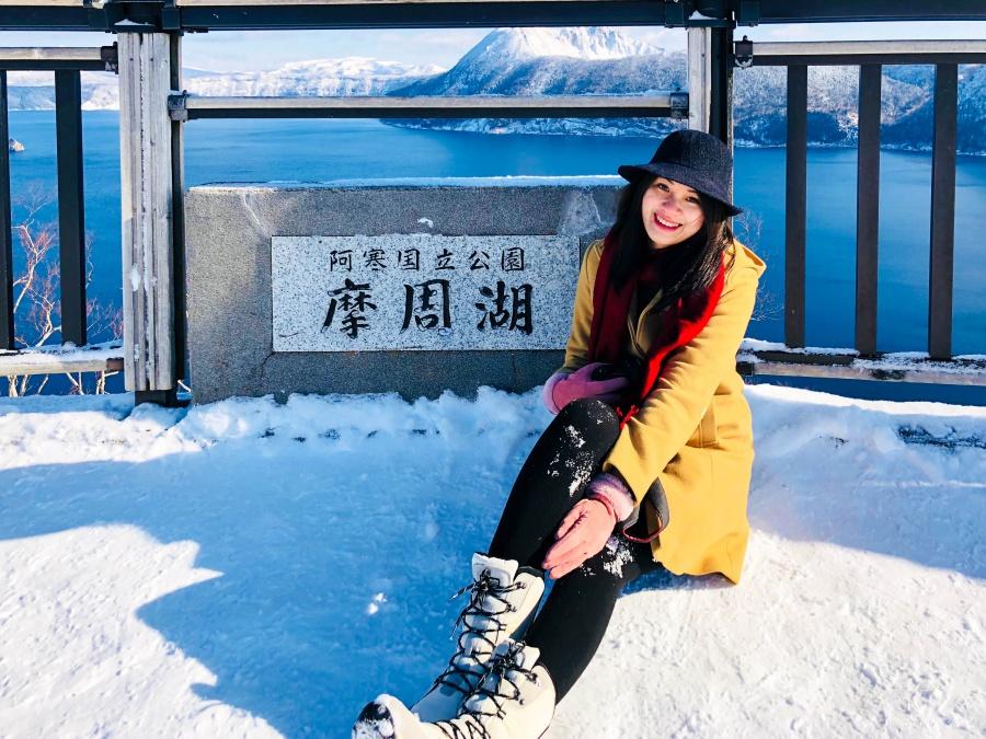 北海道冬季穿搭15