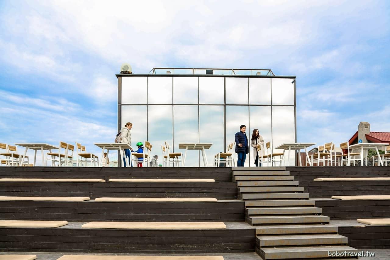 濟州島咖啡店|Cafe Monsant de Aewol(몽상드애월),涯月海邊必去絕美玻璃屋咖啡廳
