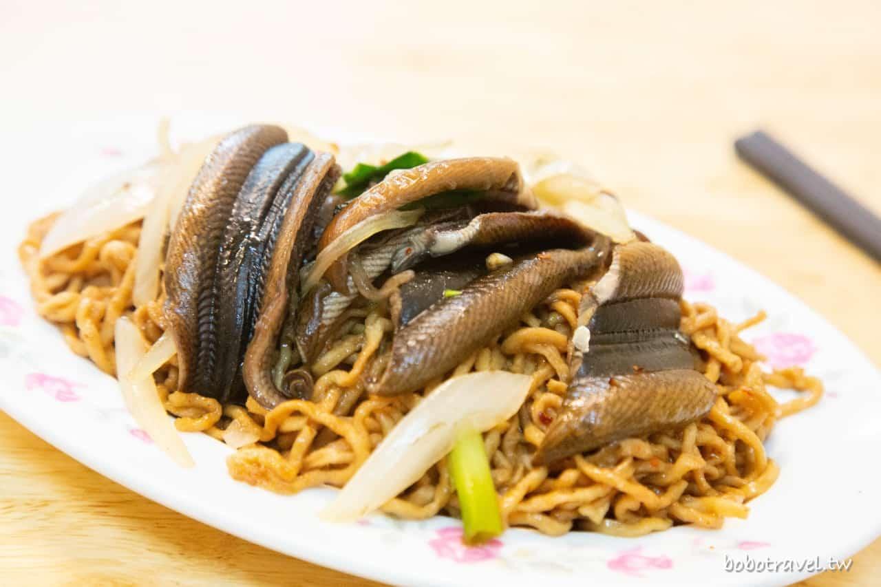 尺二鱔魚意麵・台南永康小吃|鮮彈爽脆炒鱔魚,僻靜巷弄間的傳統滋味