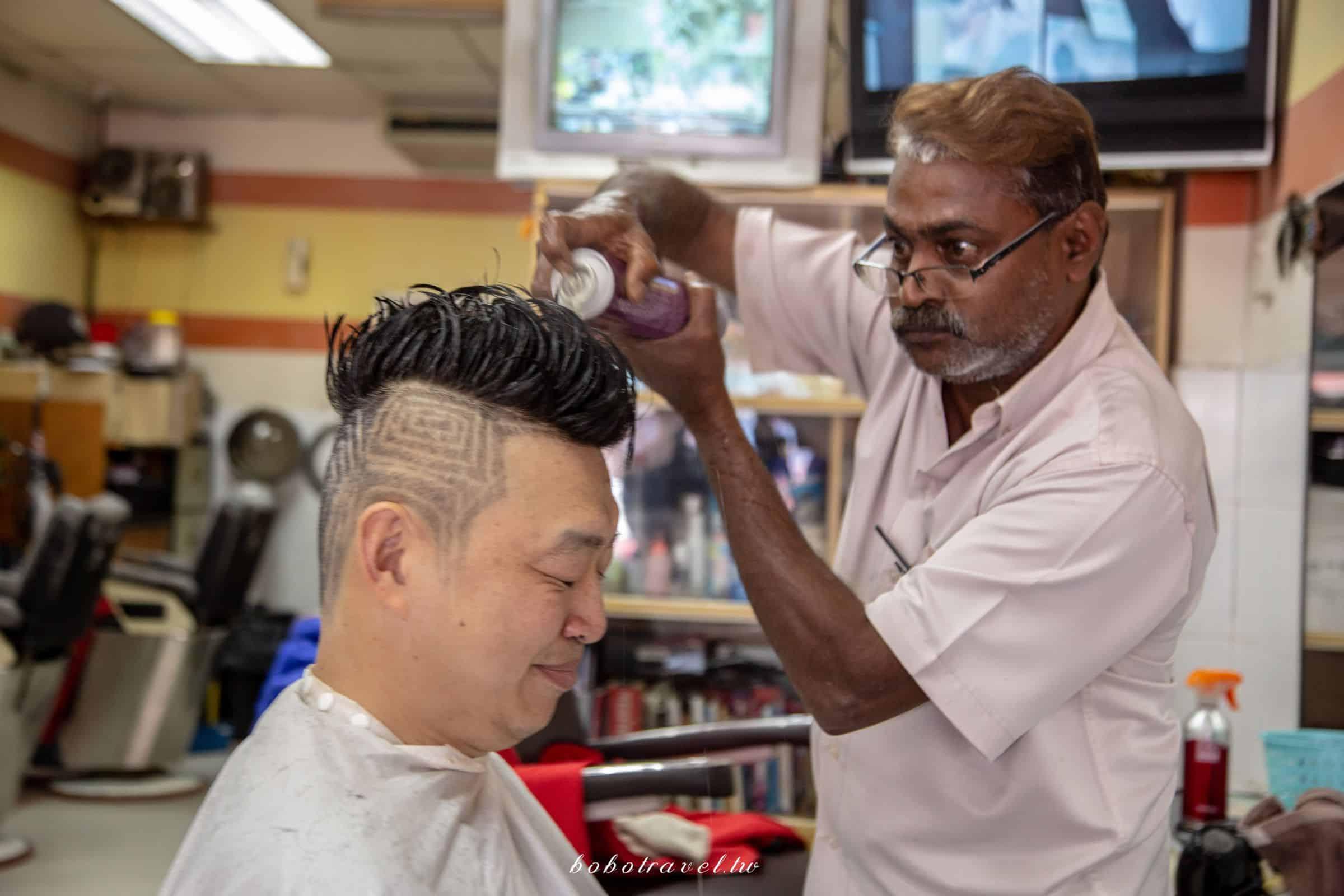 馬來西亞、吉隆坡|印度式理髮瘋狂挑戰!揭秘印度理髮真相,比想像中還厲害的超值享受