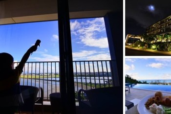 【沖繩海景溫泉飯店】 琉球溫泉瀨長島飯店,沖繩唯一,泡湯觀海看飛機、看日出日落 (Ryukyu Onsen Senagajima Hotel)