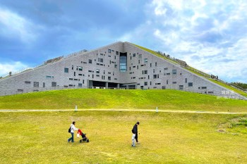 台東景點》綠色金字塔~臺東大學圖書資訊館,必去特色圖書館No.1