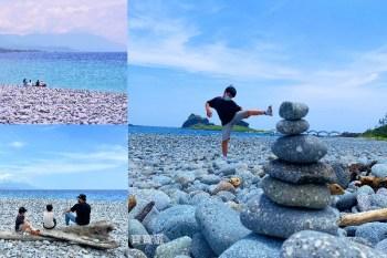 台東成功   三仙台礫石海灘秘境,疊石頭看海散步好去處