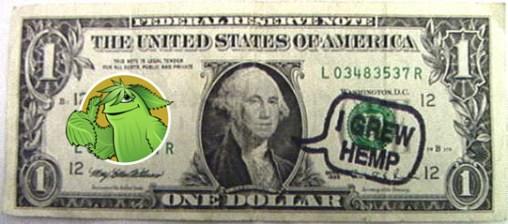 I Grew hemp_dollar_bill