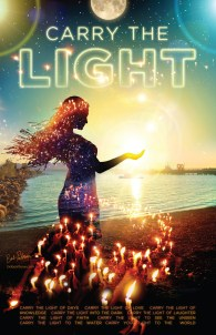 Poster Design: 2016 Carry The Light Solstice Concert and Ceremony - Bob Paltrow Design