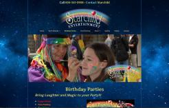 Web Design - Starchild Entertainment
