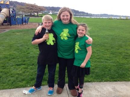 HempSquatch T-Shirt - kids like them too!