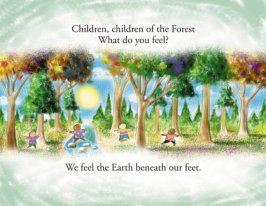 Children of the Earth - Book Design and Illustration by Bob Paltrow Design