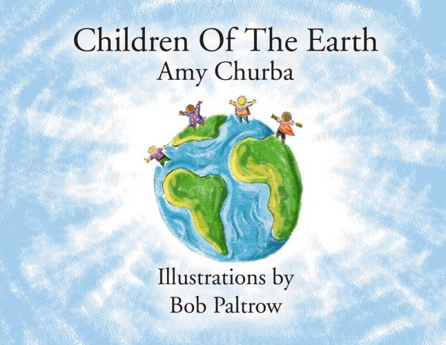Children of the Earth - Book Cover Illustration and Design by Bob Paltrow