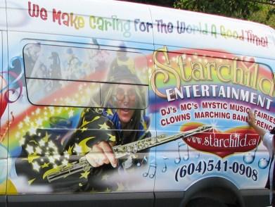 VEHICLE GRAPHICS - Starchild Entertainment, BC Canada