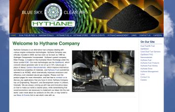 Bob Paltrow Web Design - Hythane Co - Natural Gas Technologies - Bellingham WA 2