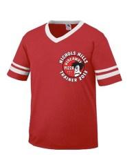 Red Shirt-TRAINER 2013 + NICHOLS in white