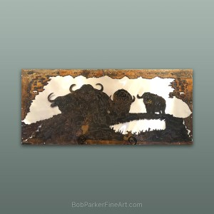 BobParkerFineArt.com | Fine Metal Art Designs by Bob Parker ~ DESIGN-2084