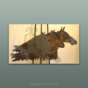 BobParkerFineArt.com | Fine Metal Art Designs by Bob Parker ~ DESIGN-2087