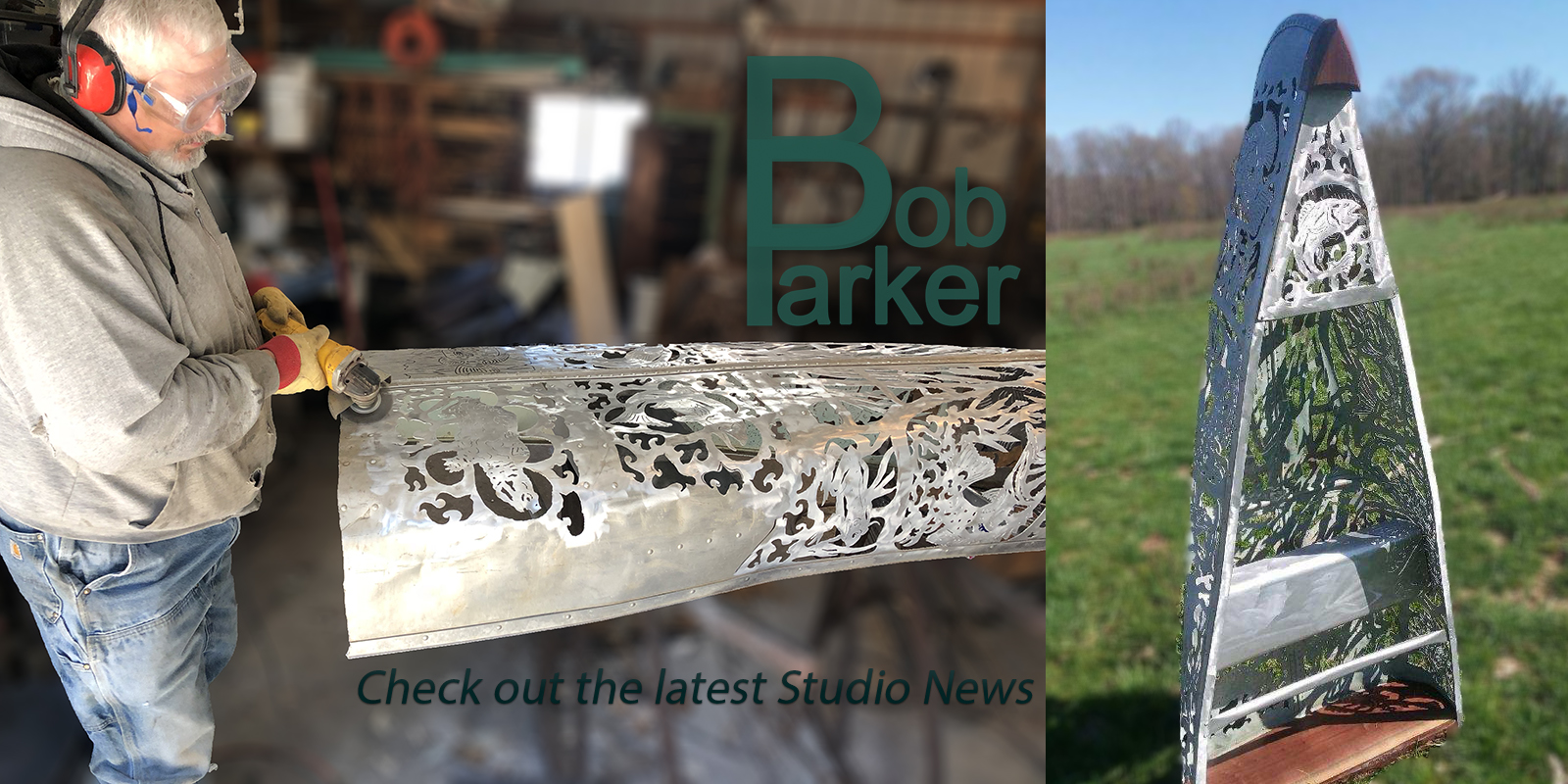 Bob Parker Fine Metal Art | Check out the latest Studio News