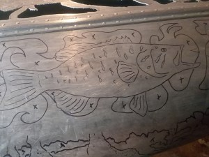 Bob Parker Fine Metal Art - NEW Buffalo Canoe Project - September 2019