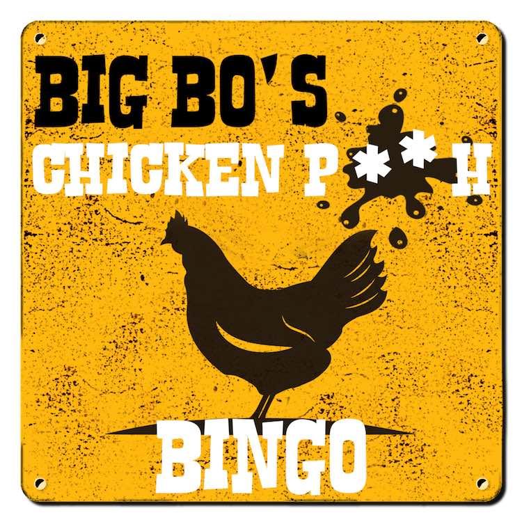 Big Bo's Chicken P**H Bingo