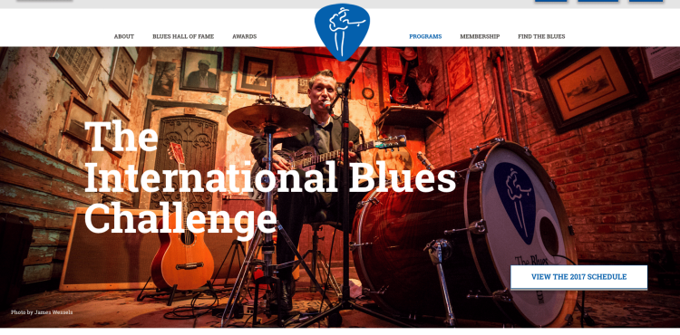 The annual 2017 International Blues Challenge