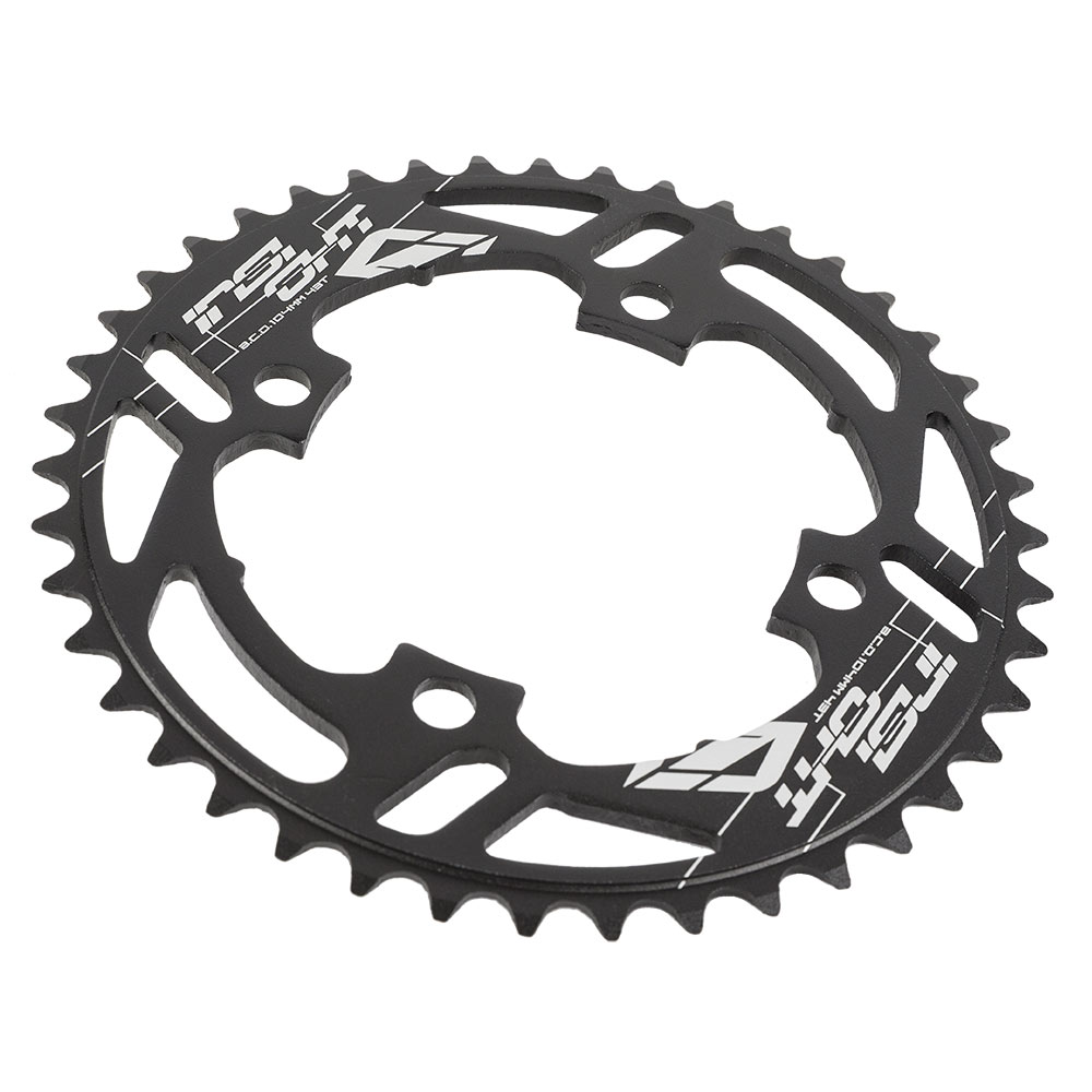 Insight 5-Bolt BMX Chainring 110mm BCD 44T Red
