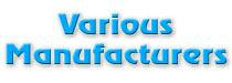 Various Manufacturers