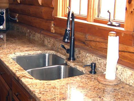 Granite Quartz Kitchen Countertop