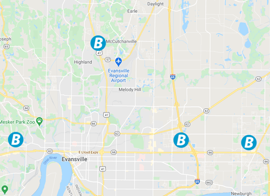 map of bobs gym locations