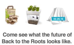 A DYI 'shroom farm? A fish-tank herb garden?