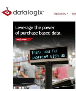 DataLogix gets data when merchants tell on you.