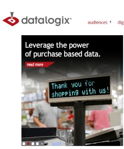 DataLogix gets data when merchants tell on you.