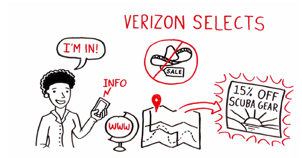 Don't be that girl! Click to watch a Verizon video about its mobile ad program.