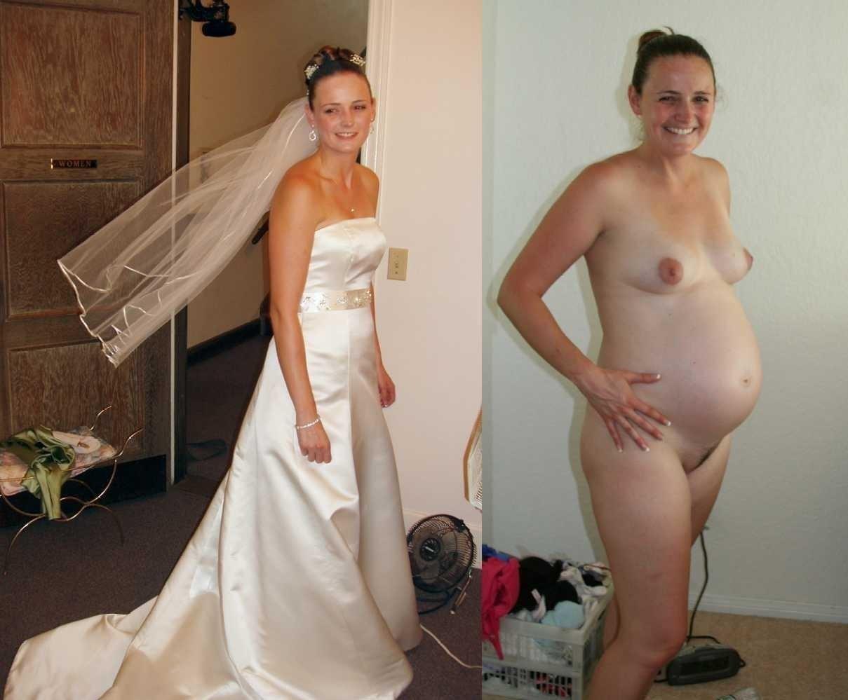 Real naked brides