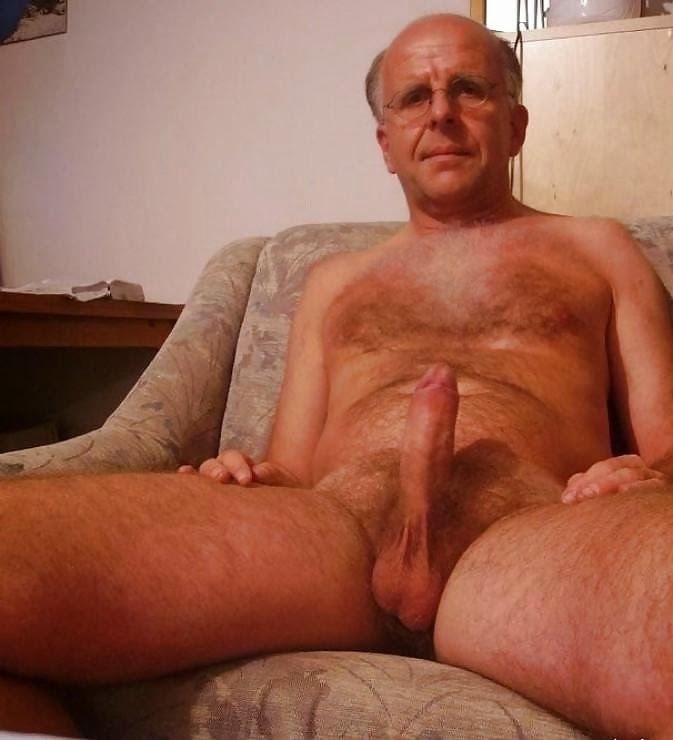 Granpa nackt old Hot Naked