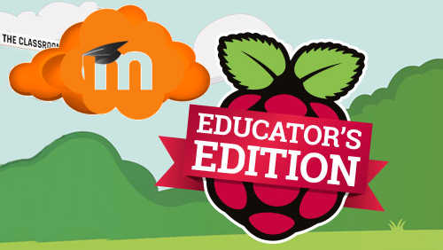 Serving Moodle courseware from a Raspberry Pi