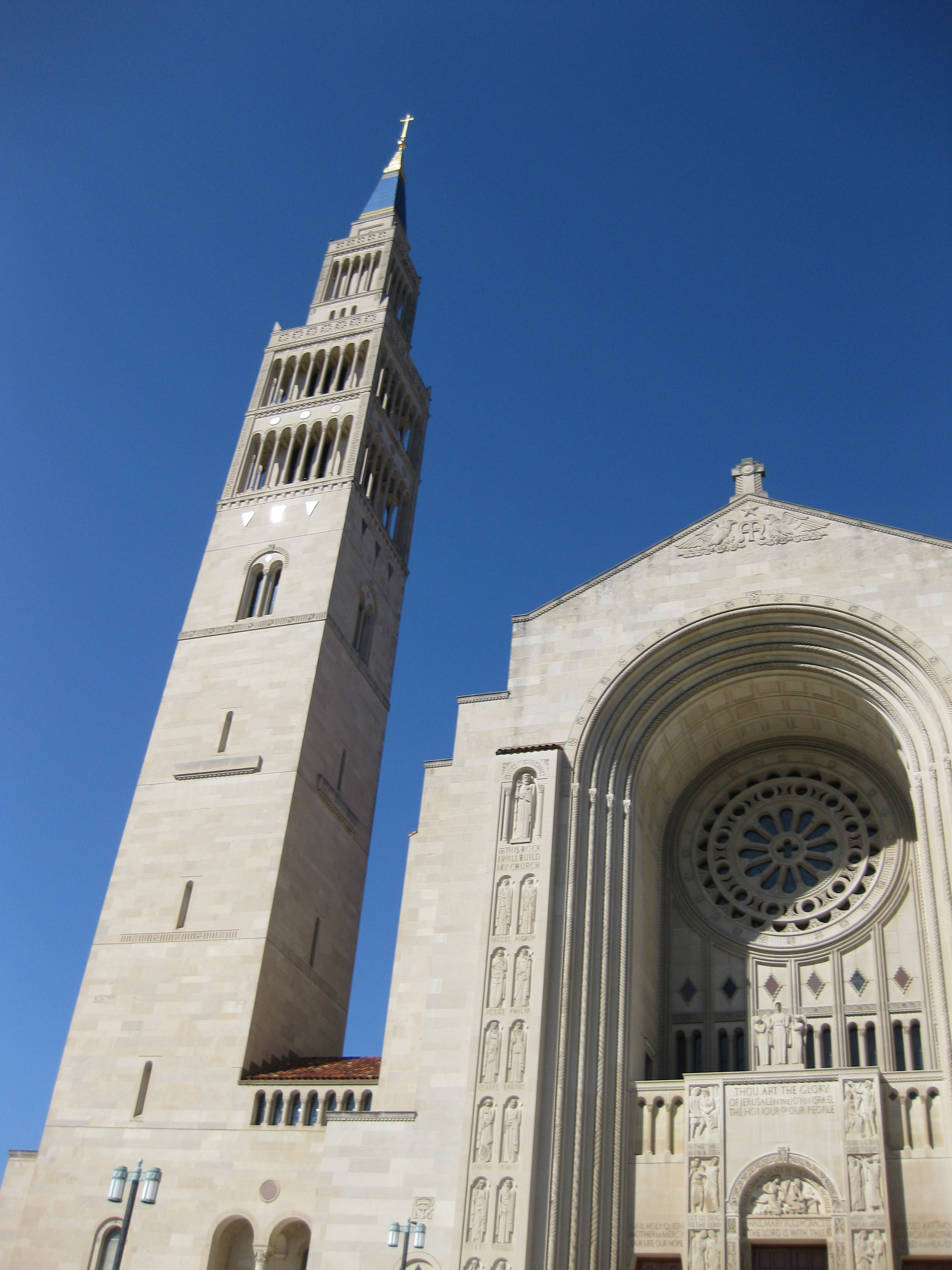 National Shrine of the Immaculate Conception across the street from my seminary