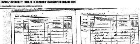 Scotland Census 1841