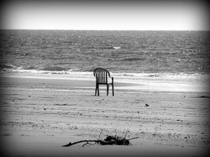 Chair on beach Jasleen Kaur