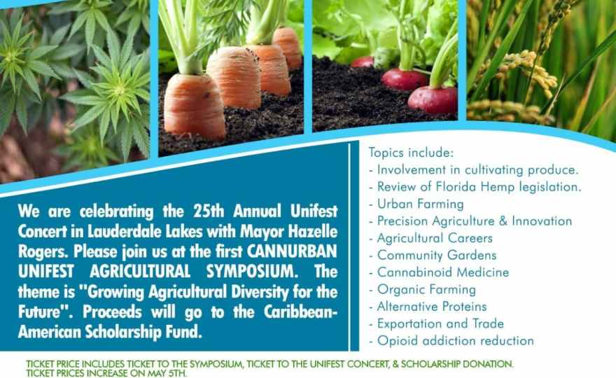 Cannurban.com and Unifest Agricultural Symposium