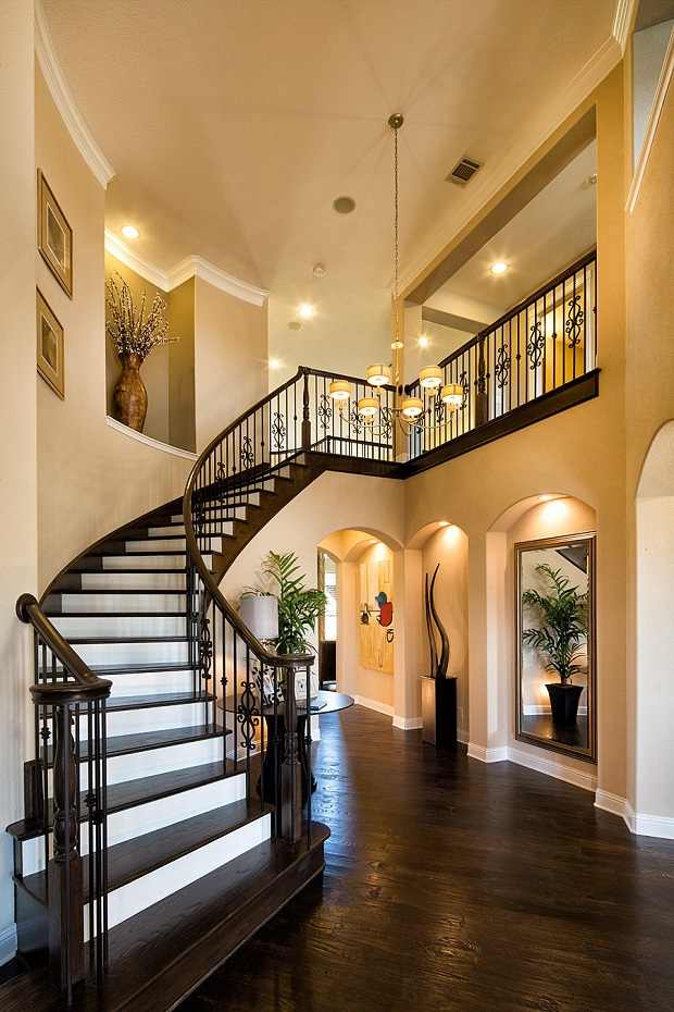 Beachy Foyer Lighting. beachy foyer apex project pinterest. 复式楼 ...