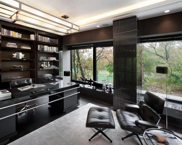 High Tech Home Office Design Novocom Top