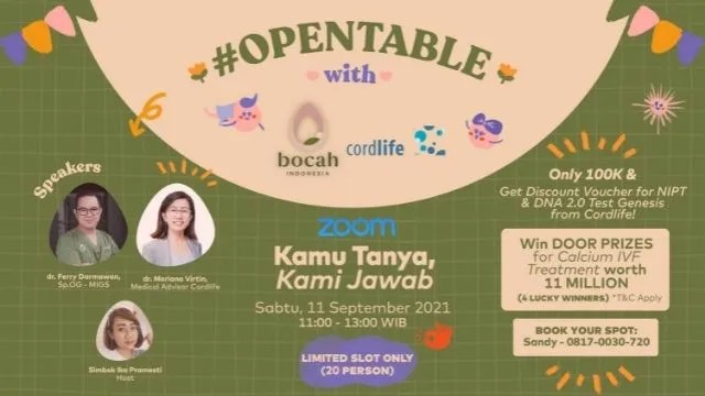 bocah indonesia opentable event