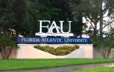 FAU Sign