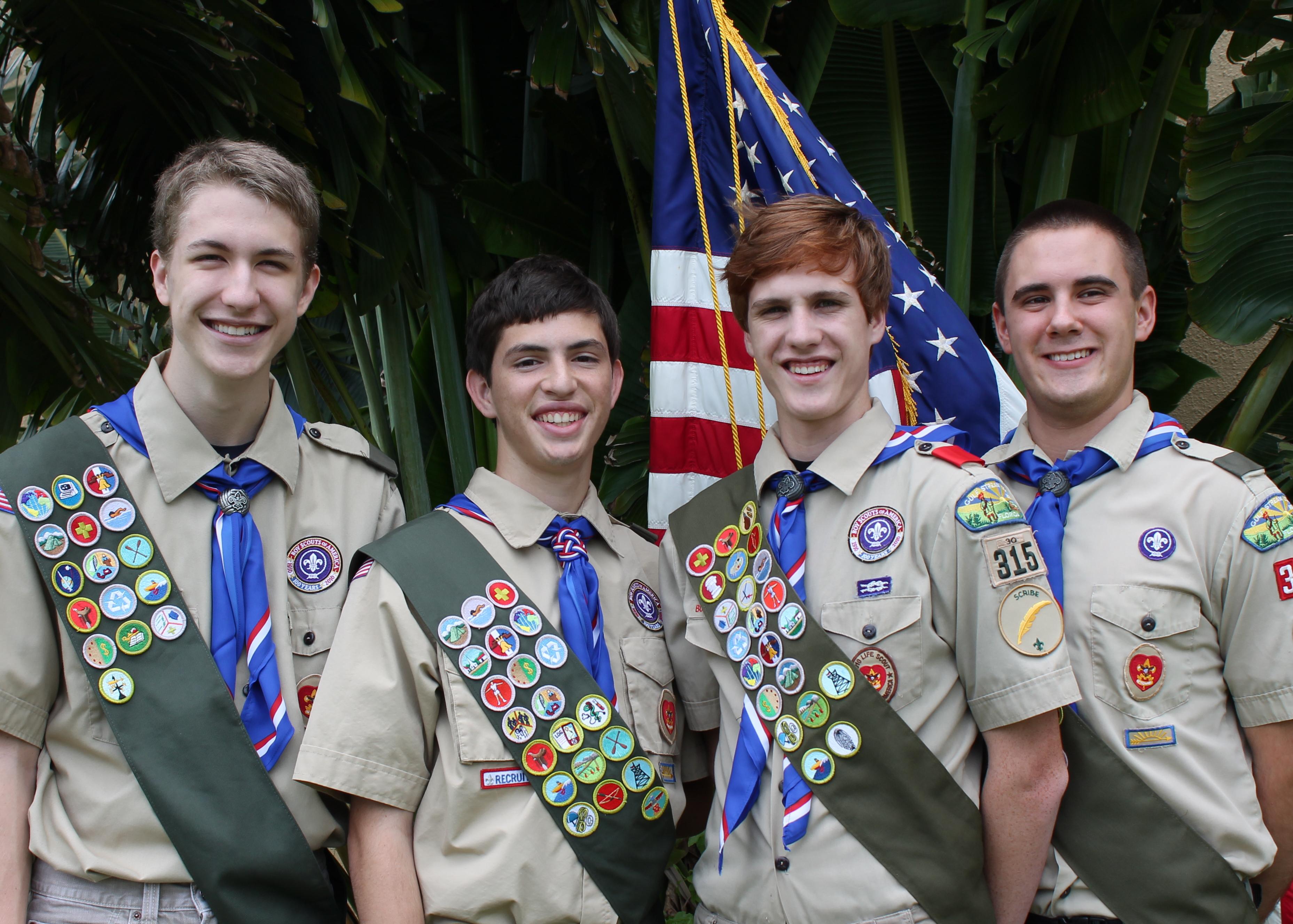 Boca Raton Eagle Scouts 2012