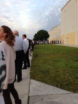 Boca Raton polling place