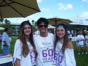 Taking part in last year's event: Sydney Rimmer, Faith Brook, Lindsey Rocque.