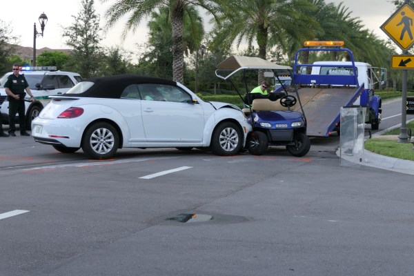 Pbso Kids At Fault In Golf Cart Crash But Issues Remain
