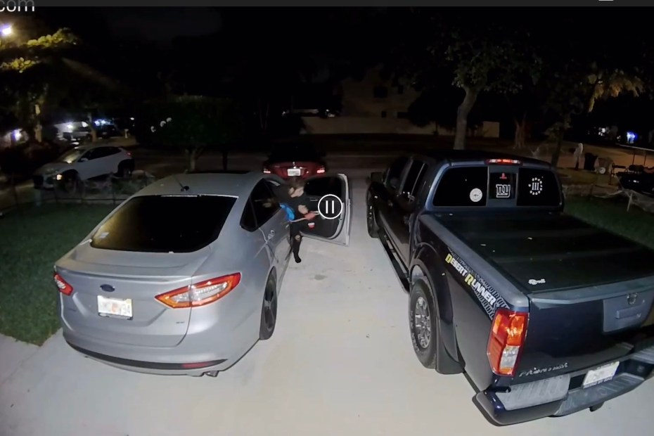 ring - alleged car burglary