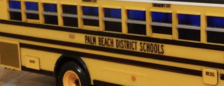 palm beach school bus