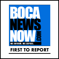 Boca Raton news first to report